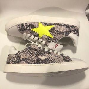 Steven By Steve Madden Shoes - Steven by Steve Madden Neon Star Ramsey Sneaker 8